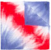 Armani Collezioni tie dye scarf