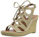 Sugar Women's Espadrille Wedge Sandal with Lace-Up Ghillie,8.5 M US