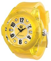 Tendence 02013012 Rainbow Yellow 44mm Watch