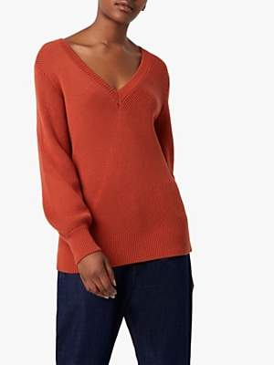 French Connection Yasmina Mozart V Neck Jumper