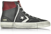 Converse Limited Edition Star Player High Black/Truffle Leather and Suede Men's Sneaker