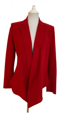 Hermes Red Wool Jackets