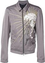 Haider Ackermann embroidered zip jacket