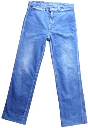 Givenchy Blue Cotton Jeans