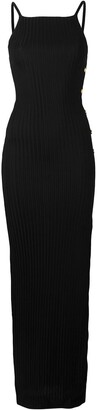 Balmain Knit Side Slit Dress