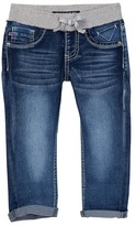 Vigoss Denim Capri with Rib Knit Waist (Little Girls & Big Girls)