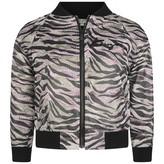 Kenzo KidsGirls Pink & Gold Tiger Stripe Jacket