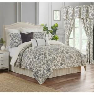 Rose Tree Aleah 4 Piece King Comforter Set Bedding