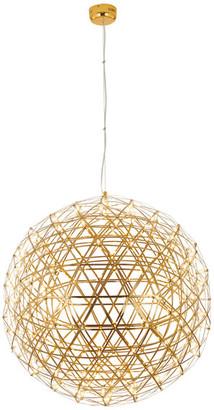Design Living Star Light LED Light Fixture, Gold