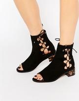 Asos APOSTROPHE Lace Up Shoe Boots