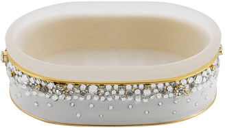 Mike and Ally Mike + Ally - Duchess Soap Dish - Pearl/Gold