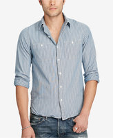 Denim & Supply Ralph Lauren Men's Slim Fit Chambray Workshirt