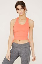 Forever 21 Active Ruched-Sides Tank