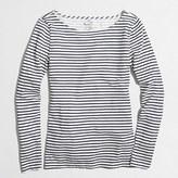 J.Crew Factory Striped artist T-shirt