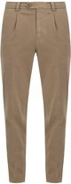 Brunello Cucinelli Slim-leg stretch-cotton chino trousers