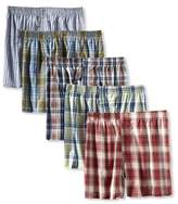 Fruit of the Loom Men's 5P590L Assorted Low-Rise Boxer ()(Pack of 5)