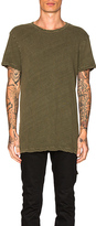 Ksubi Loose Morals Tee in Army. - size M (also in S)