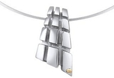 Masini Manhattan - Sterling Silver Drop Pendant