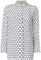 Diane von Furstenberg circular print blouse