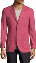 Tailorbyrd Men's Solid Notch Lapel Sportcoat