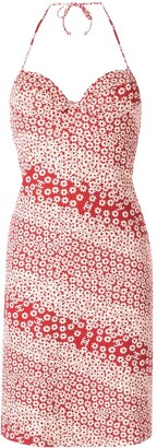 Chanel Pre Owned Floral Swimsuit Dress