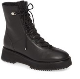 Jimmy Choo Haysley Leather Combat Boot