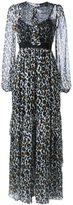 Marco Bologna - leopard print maxi dress - women - Silk - 44