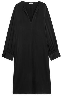 Arket Short Long-Sleeved Dress