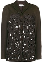 Romeo Gigli Pre Owned cutout fitted jacket