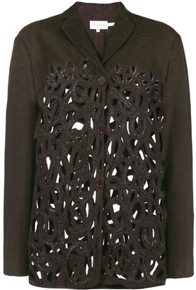 Romeo Gigli Pre-Owned Cutout Fitted Jacket