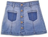 7 For All Mankind Girls' Denim Skirt - Sizes 7-14