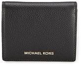 MICHAEL Michael Kors Mercer RFID Flap Card Holder