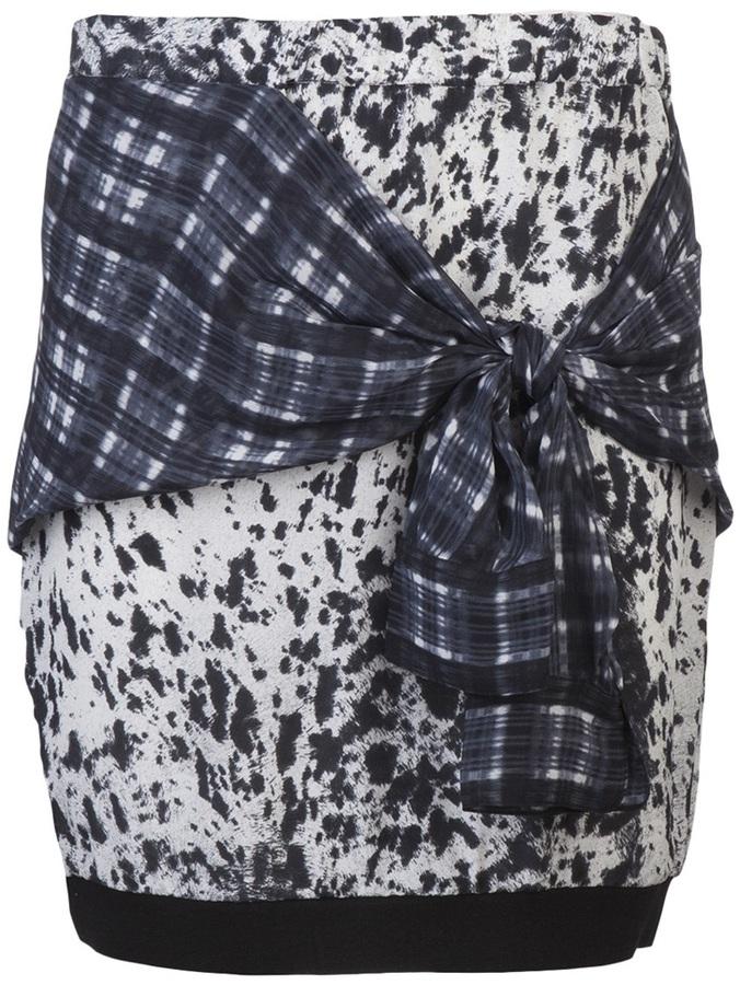 3.1 Phillip Lim Skirt with shirt tie