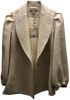 Brock Collection White Wool Jacket for Women