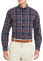 Daniel Cremieux Signature Slim-Fit Plaid Poplin Long-Sleeve Woven Shirt