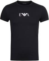 Emporio Armani Black Underwear Short Sleeve T-shirt