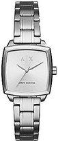 Armani Exchange Square Stainless Steel Analog Watch