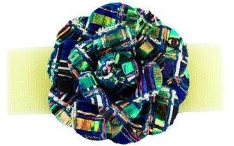 Chanel Tweed & Velcro Camellia Brooch w/ Tags