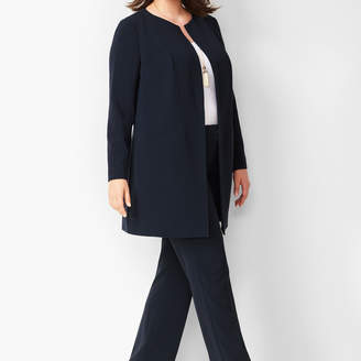 Talbots Easy Travel Open-Front Topper