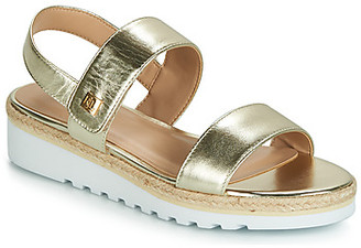 Lauren Ralph Lauren JEWELLE women's Sandals in Gold
