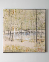 """John-Richard Collection In a Circle"""" Painting"""