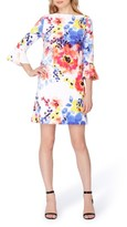 Tahari Petite Women's Floral Shift Dress