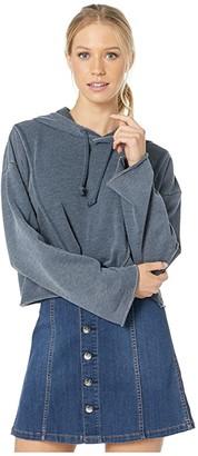 RVCA Ava Crop Fleece Top