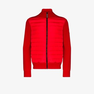 Canada Goose HyBridge quilted zip-up sweater