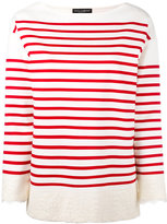 Dolce & Gabbana striped sweatshirt - women - Cotton/Polyamide - 40