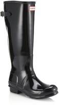 Hunter Women's Original Back-Adjustable Gloss Rain Boots