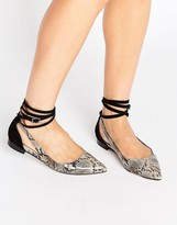 Asos LOLLY Pointed Ballet Flats