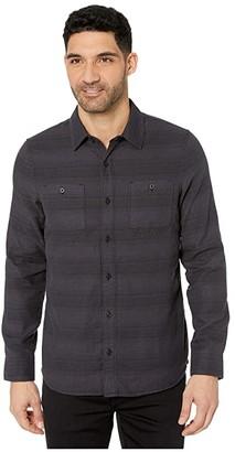 Travis Mathew TravisMathew Bigs Button Up Shirt (Black) Men's Clothing
