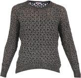 Sun 68 Mesh Cotton-alpaca Knitted Sweater