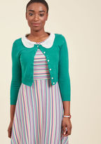 Elegant Accents Cardigan in Teal in 2X